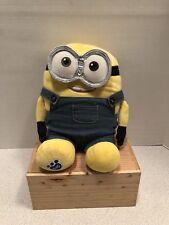 Build-A-Bear DAVE RARE Yellow MINION Plush Minions with clothing Despicable Me 3