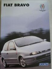 Fiat Bravo range brochure Nov 1995