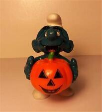 Smurf - Halloween Pumpkin - 1981 - Vintage NEW