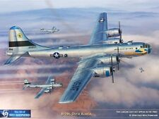 ART PRINT: B-29 Superfortress over Korea - Print by Shepherd