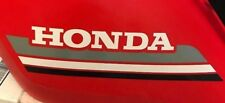 1985 85' honda ATC 250ES Big Red ATC 2pc Gas Tank Decals Stickers 250 es