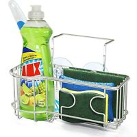 Best Sponge Holder For Kitchen Sink Dishwashing Scrub Caddy Soap Drainer Rack