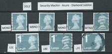 GB 2012 - Security Machin - Azure Diamond Jubilee - used - Cat £20