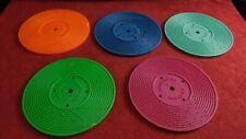 Lot de 5 disques pour tourne disque ancien vintage Fisher Price 995