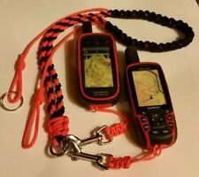 GARMIN ALPHA 100 AND ASTRO 320 & 430 PARACORD COON HUNTING NECK LANYARD 2 SNAPS