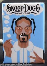 "Snoop Dogg Concert Poster 2"" X 3"" Fridge / Locker Magnet. 420 Bestival 2013"