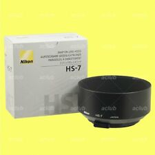 Original Nikon Lens Hood Hs-7 for 58mm F/1.2 Noct Snap-on Type