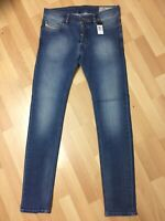 Mens Diesel SLEENKER STRETCH Denim 0681N BLUE Slim W30 L32 H5 RRP£150