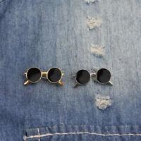 Men's Sunglasses Badge Brooch Pin Lapel Pin Bag Shirt Suit Wedding Gift S