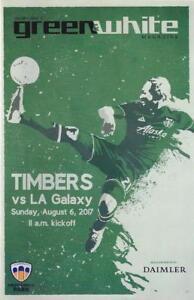 Portland Timbers 'Green & White' MLS Soccer/Football Program Volume 6, Issue 12
