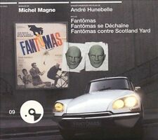Trilogie Fantomas [Original Soundtrack] by Michel Magne (CD, Jul-2002, Emarcy...