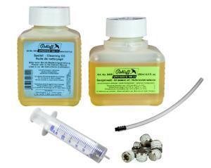 ROHLOFF Ölwechselset je 250ml Öl & Spülung MIT oder OHNE Ölwechsel-Zubehör 8409