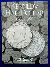 HE Harris Kennedy Half Dollar #2 1985-1999 Coin Folder,  Album Book #2697