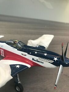 1/48 P51 RACER 'MISS AMERICA' FRANKLIN MINT ARMOUR COLLECTION