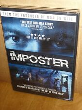 The Imposter (DVD) A Gripping Psychological Thriller, Producer Of Man On Wire!