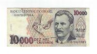 10000 Cruzeiros Brasilien 1991 C223 / P.233a - Brazil Banknote