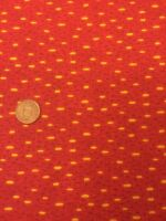 Classic Folk Art 1170 Red Fabri-quilt 100% Cotton Quilting fabric Spots
