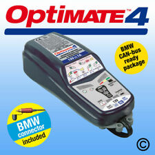 OptiMate 4 BMW Can-bus AGM STD GEL 12v Motorcycle Battery Charger Optimiser