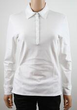 Tommy Hilfiger Golf Cream L/S Polo Shirt - M