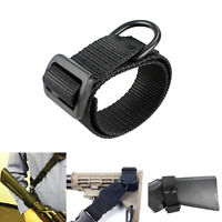 Tactical Heavy Duty ButtStock Sling Adapter con anillo D para escopeta de rifle
