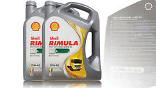 Shell RIMULA R4 L  15W-40, Inhalt: 2x5 Liter, Diesel , MAN, Volvo Motoröl