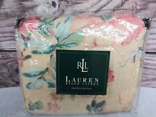 New Ralph Lauren Lrl Grassland Floral King Ruffled Bed Skirt Country