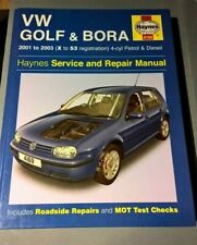 Haynes VW Golf & Bora From 2000-03 petrol and Diesel