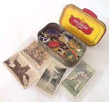 Erinmore Flake Tobacco Tin Cigarette Cards Lawn Bowls Pin Badge Lot (B54)