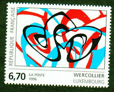TIMBRE FRANCE 1996 WERCOLLIER SERIE ARTISTIQUE NEUF