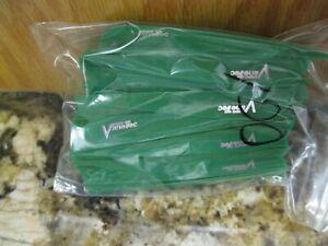 """100 Pack Vanetec V Maxx 3/"""" Flo Green Vanes 30-04"""