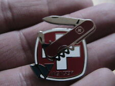 Wenger Swiss Army Knife PIN BADGE MOTO MOTOCICLETTA MOTOCICLISTA SCOUT ESCURSIONI Walker