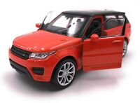 Model Car Range Rover Sport SUV Orange Car Scale 1:3 4-39 (Licensed)