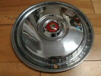 """15"""" 1955 1956 FORD FACTORY ORIGINAL HUBCAP WHEELCOVER (1) USED FITS THUNDERBIRD"""