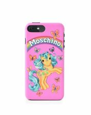 $75 SS18 Moschino Couture Jeremy Scott Pink My Little Pony iPhone 6/7 PLUS Case