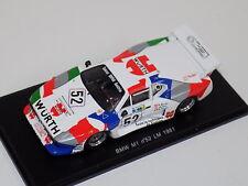 1/43 Spark BMW M1  Car# 52  24 Hours of LeMans  1981  S1583