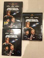 3 SpaceBalls Mel Brooks Movie Dvd: 2 Are Nip: 1 Is Used And Works properly