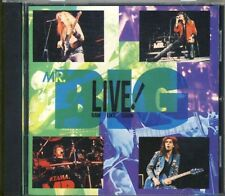 MR.BIG - live! raw like sushi  CD1990  JAPAN IMPORT