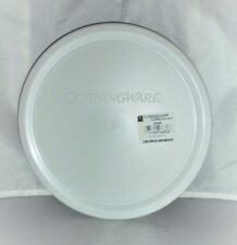 CORNINGWARE Casserole French White 24-oz New Plastic Cover, Lid, Seal  F-24-PC
