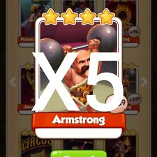 Coin Master Armstrong X5 *Fast Delivery*