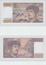 GERTBROLEN  20 FRANCS ( DEBUSSY ) de 1989  B.024 Billet N°  0576193346