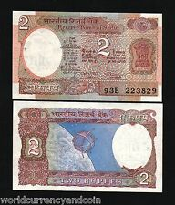 INDIA 2 RUPEES P79 1976 FULL BUNDLE LOT SPACE CRAFT UNC PACK 100 BANK NOTE MONEY
