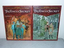 LE TRIANGLE SECRET  (DIDIER CONVARD)  TOME 1 & 2  GLENAT
