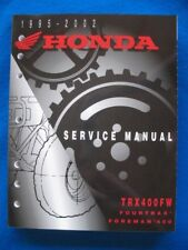 Honda 1995 - 2002 TRX400 FW Foreman BRAND NEW Factory Service Shop Manual