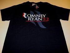 Romney and Ryan Mens Dark Green Adult Mens T-Shirt