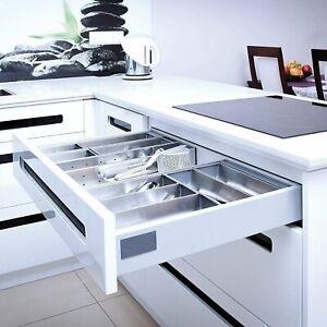 Schublade Schubkasten Auszug Küchenschublade Vollauszug Küchenschubkasten 40Kg