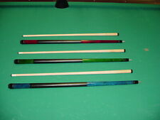 3 BRAND NEW CUES WITH  LD TAPER SHAFTS pool billiards 20-2337