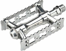 "MKS Sylvan Touring Next Pedals - Platform, Aluminum, 9/16"", Silver"