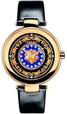 Versace Women's VK6010013 Mystique Foulard Rose Gold Ion-Plated Diamond Watch