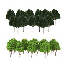 1/150 Modèle en plastique arbres échelle N Train Layout Wargame paysage