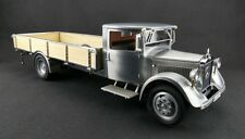 Mercedes-Benz Racing Car Transporter Clear Coat Truck by CMC   CMC171